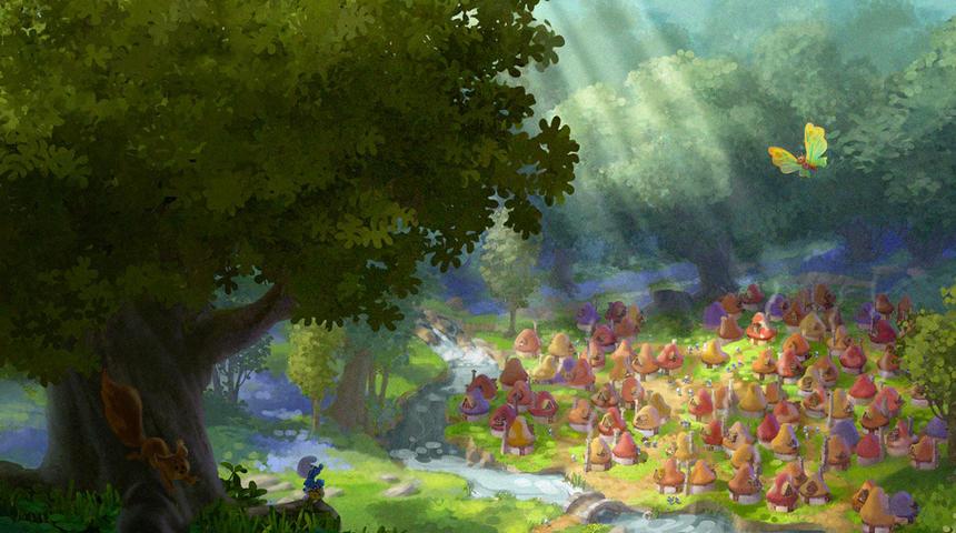 Une date de sortie officielle pour le film d'animation des Schtroumpfs