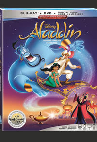 Combo Blu-ray/DVD du film Aladdin Édition Signature