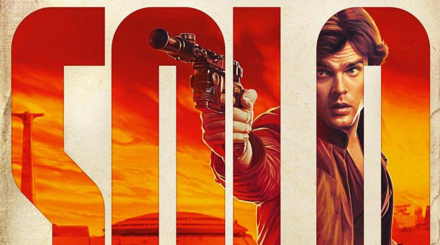 Est-ce que le concept des affiches de Solo: A Star Wars Story serait un plagiat?