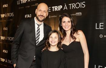Première montréalaise de la comédie québécoise Le trip à trois