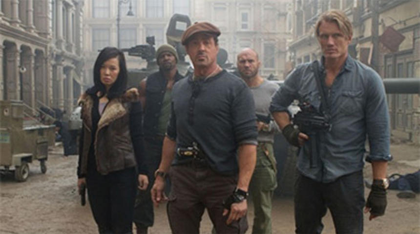 Sorties DVD : The Expendables 2