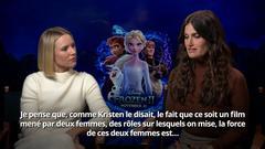 Entrevue avec Kristen Bell et Idina Menzel