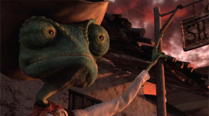 Bande-annonce du film d'animation Rango