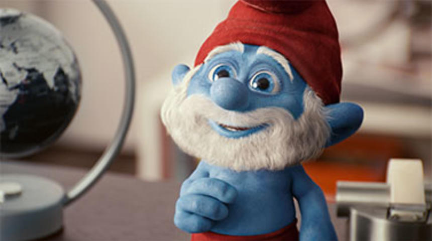The Smurfs 2 s'envole vers Paris