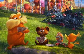 Box-office nord-américain : Dr. Seuss' The Lorax grand gagnant