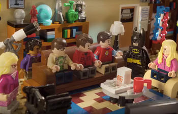 Un brillant mashup entre The Big Bang Theory et The LEGO Batman Movie