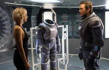 Découvrez la bande-annonce officielle de Passengers avec Chris Pratt et Jennifer Lawrence
