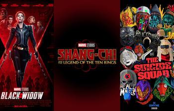 Les films de superhéros à surveiller en 2021