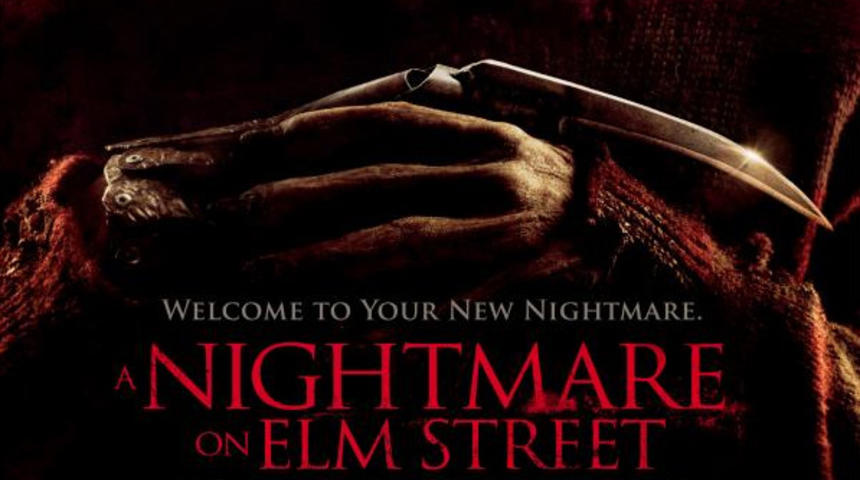 Affiche officielle du remake A Nightmare on Elm Street