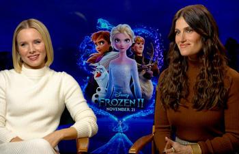 Vidéo : Kristen Bell et Idina Menzel nous parlent de Frozen 2