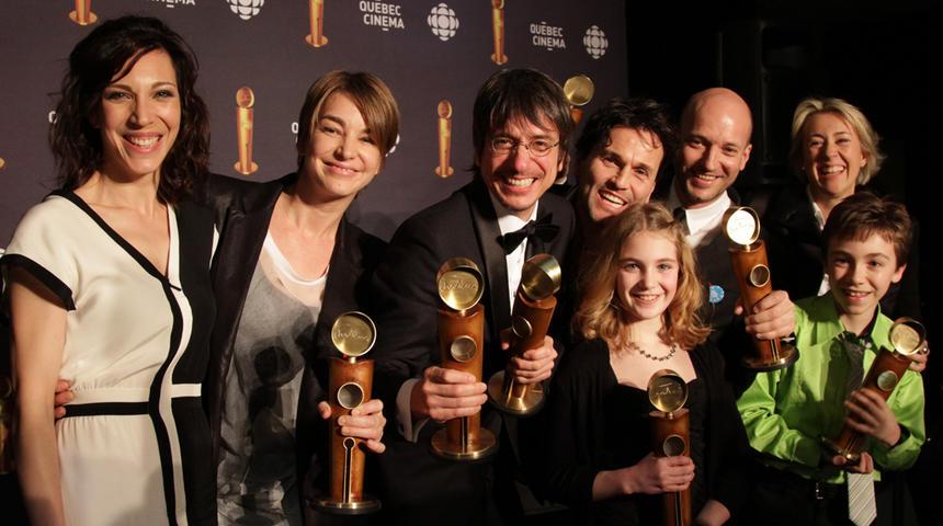 Jutra 2012 : Résumé de la soirée et les gagnants