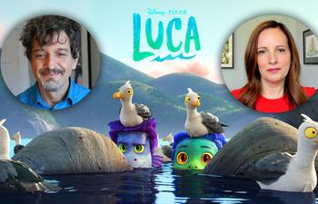 Vidéo : Entrevue avec le réalisateur et la productrice du film d'animation Luca