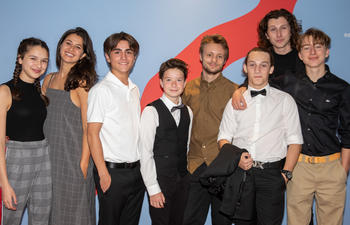 Tapis rouge de la première du film québécois Vivre à 100 milles à l'heure au FCVQ