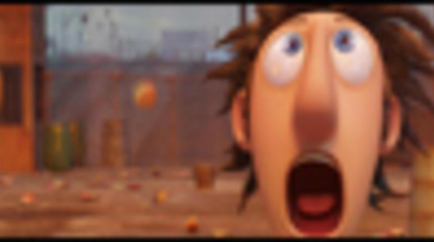 Primeur : Nouvelle bande-annonce en français du film d'animation Il pleut des hamburgers