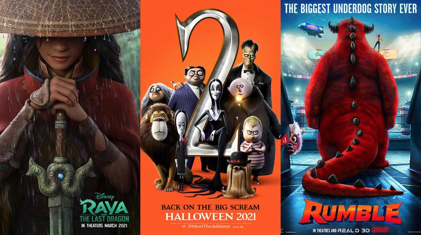 Dix films pour la famille à surveiller en 2021