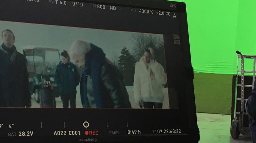 Le tournage du film de zombies Brain Freeze avec Roy Dupuis enfin terminé
