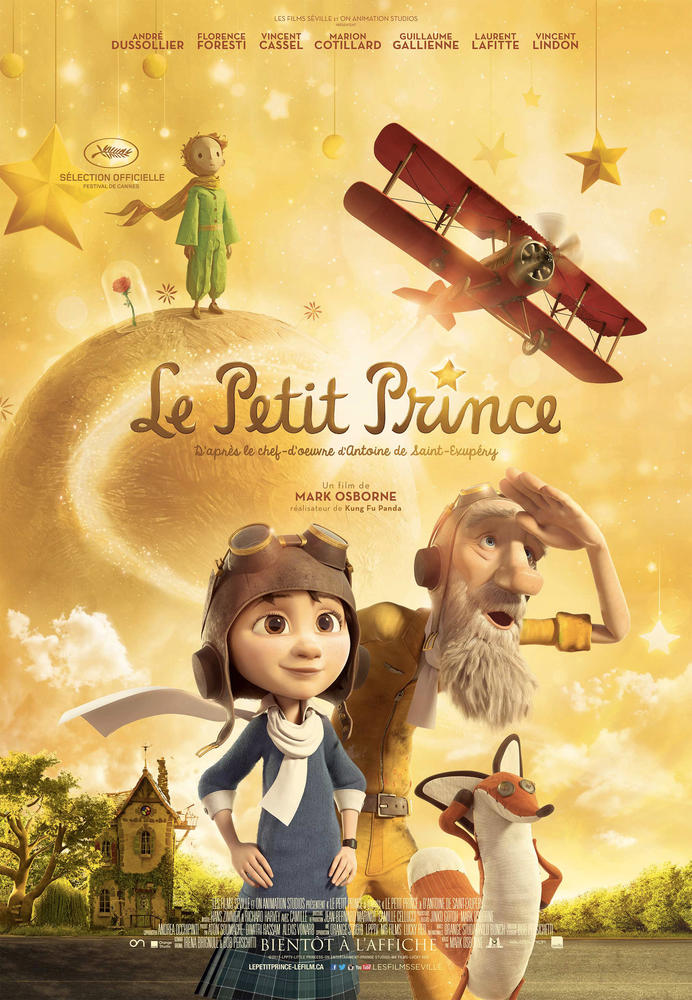 le petit prince 2016 film. Black Bedroom Furniture Sets. Home Design Ideas