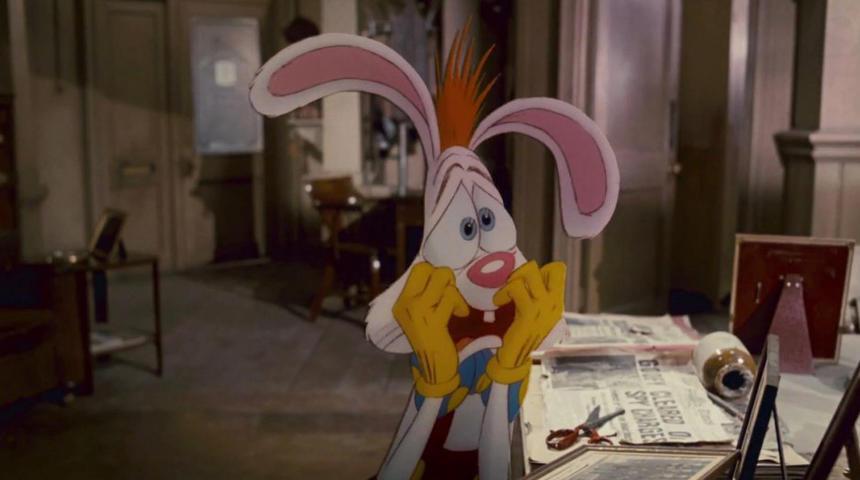 Mickey Mouse et Roger Rabbit dans un remake de The Stooge