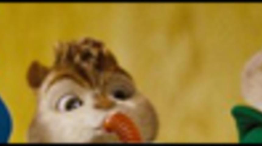 Pré-bande-annonce du film d'animation Alvin and the Chipmunks: The Squeakquel